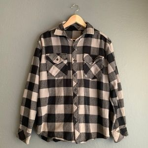 Dickies Men's THICK Weight Flannel Shirt